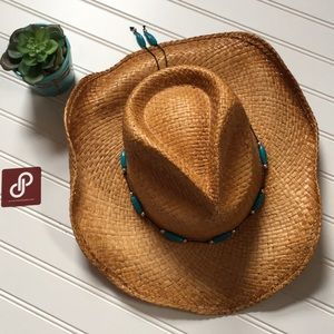 Accessories - Western Woven Hat